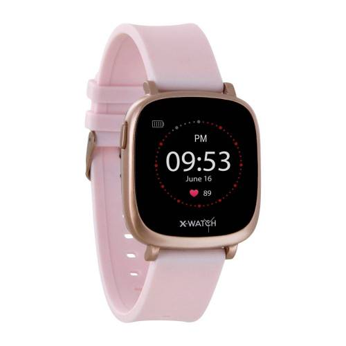 X-Watch IVE XW FIT Smartwatch, Rose   Urban Rose