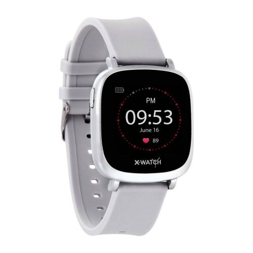 X-Watch IVE XW FIT Smartwatch, Silver   Urban Silver