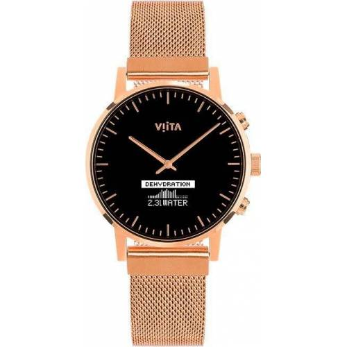 Viita Hybrid HRV Classic Smartwatch, goldfarben   rosé