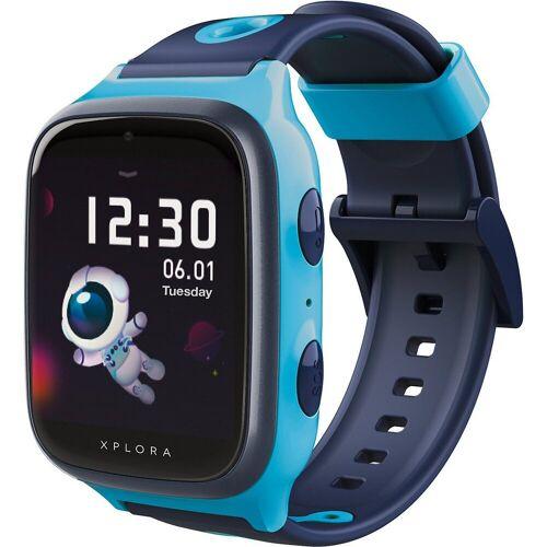 Xplora 4 - Smartwatch für Kinder - sim free, pink Smartwatch (Android), blau
