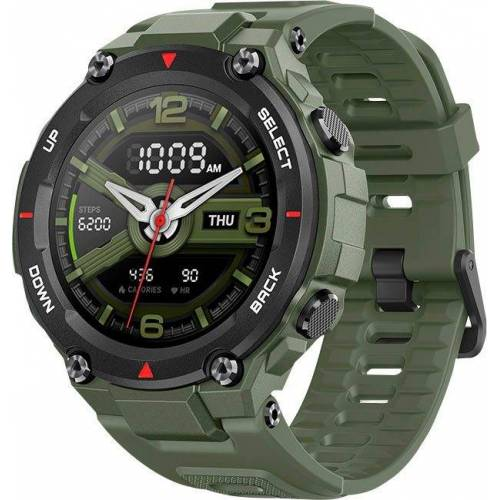 Amazfit T-Rex Smartwatch (3,3 cm/1,3 Zoll), Army Green