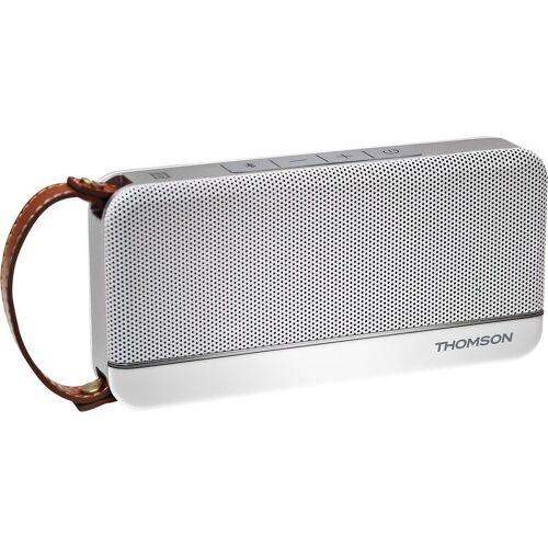 Thomson Bluetooth-Lautsprecher WS02 - Retro White Lautsprecher