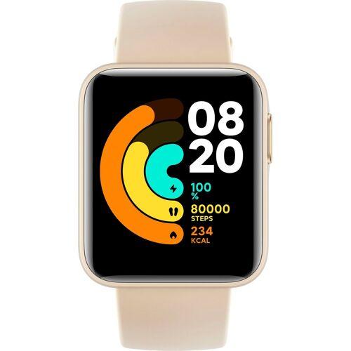 Xiaomi Mi Watch Lite Smartwatch (3,55 cm/1,4 Zoll, Proprietär), beige   ivory