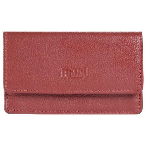 MANO Medio Schlüsseletui Leder 10,5 cm, rot