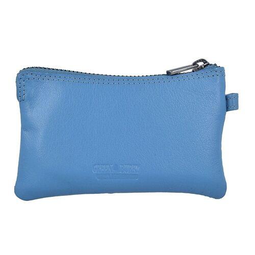 Greenburry Spongy Schlüsseletui Leder 11,5 cm, ink blue