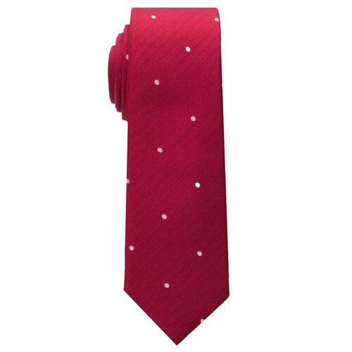 Eterna Krawatte »schmal«, rot