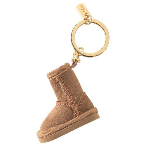 UGG Schlüsselanhänger, mit Schlüsselring, chestnut