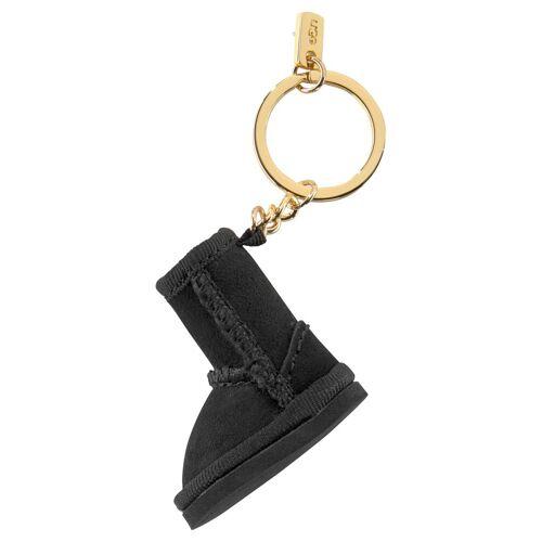 UGG Schlüsselanhänger, mit Schlüsselring, schwarz