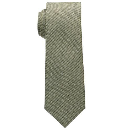 Eterna Krawatte »schmal«, gelb