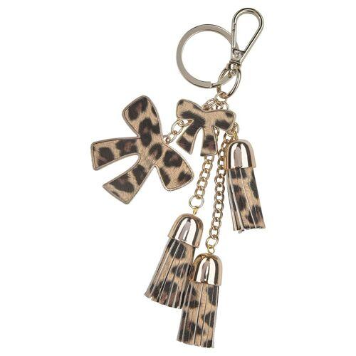 J.Jayz Schlüsselanhänger, mit Schleifen- und Quast-Anhänger