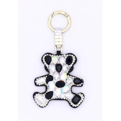 J.Jayz Schlüsselanhänger »mit süßem Teddybär«, mit Glassteinen