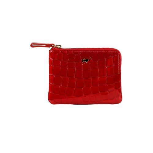 Braun Büffel Schlüsseltasche, rot