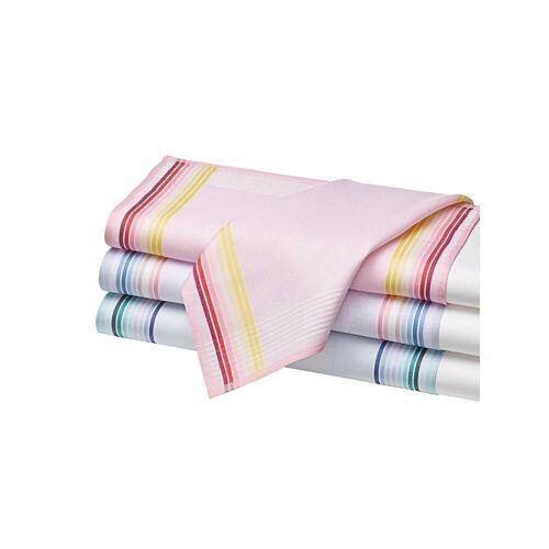 Taschentuch, rosé-bleu-mint