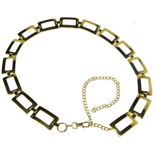FRONHOFER Kettengürtel »18375« goldener Kettengürtel ca. 2,8 cm breit, 110 cm lang