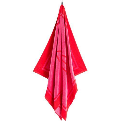 Gant Strandtuch »« (1-St), aus 100% Baumwolle, rot