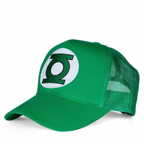 LOGOSHIRT Cap. Kappe »Green Lantern – Logo«, grün