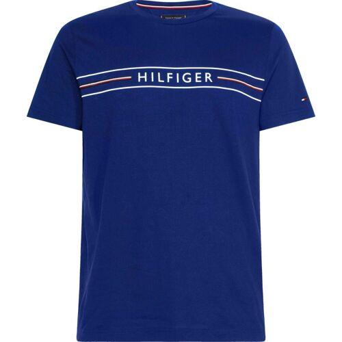 Tommy Hilfiger T-Shirt »CORP HILFIGER TEE«, phthalo blue