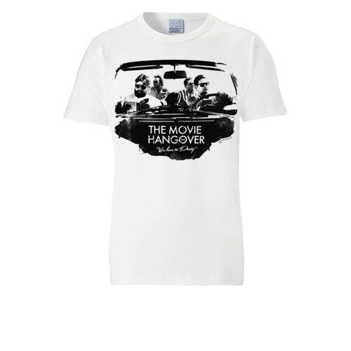 LOGOSHIRT T-Shirt mit coolem Hangover-Motiv »Hangover«, weiss