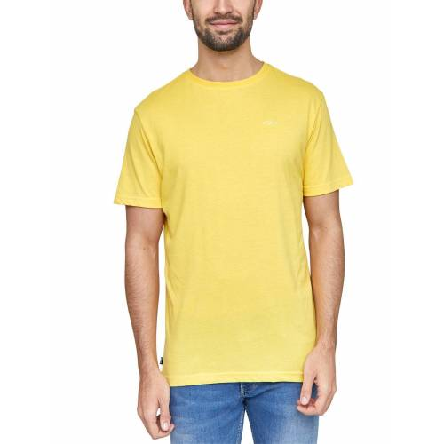 MAZINE T-Shirt aus veganen Materialien »Burwood«, yellow