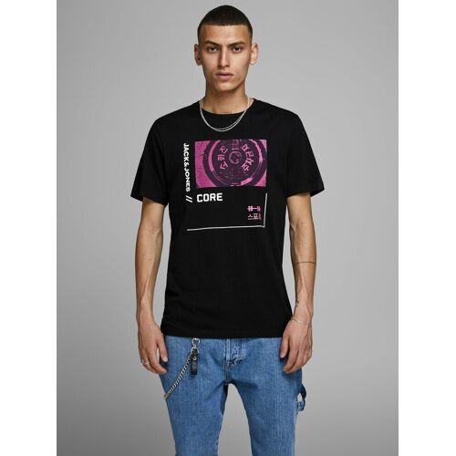 Jack & Jones Chinesische Schriftzeichen Print T-Shirt, Black