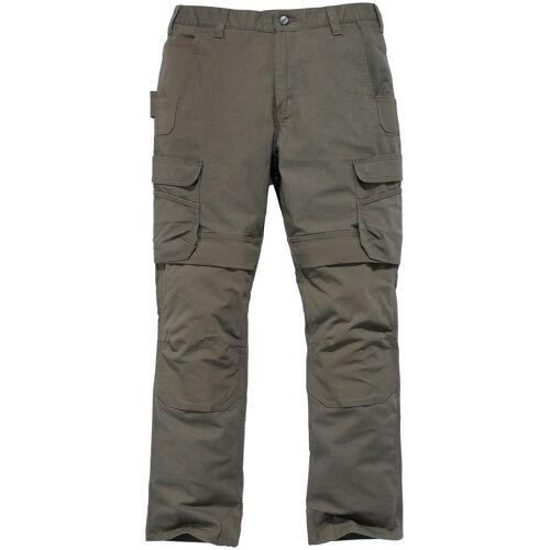 Carhartt Arbeitshose »STEEL CARGO PANT«, grün-grau
