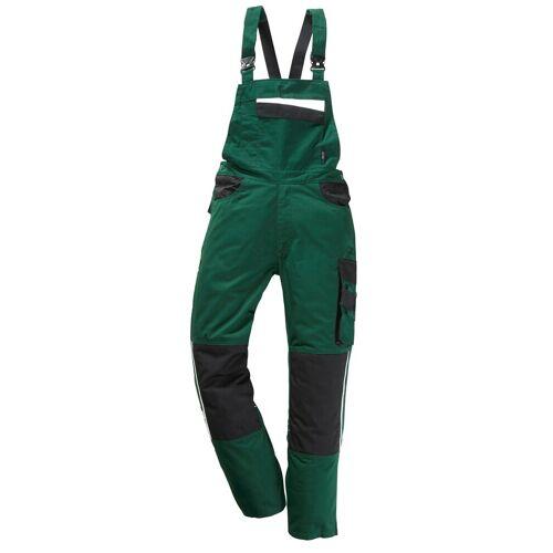 Latzhose »Pull«, grün/schwarz