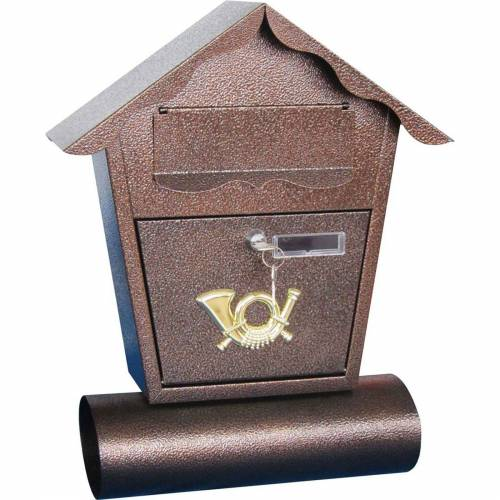 HTI-Living Briefkasten »Briefkasten mit Zeitungsrolle«