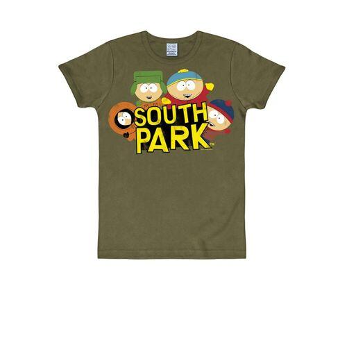 LOGOSHIRT T-Shirt mit witzigem Print »South Park«, oliv