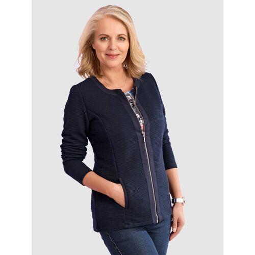 Paola Shirtjacke mit Reißverschluss, Blau