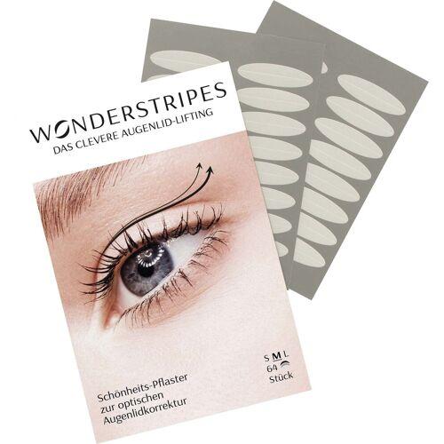 WONDERSTRIPES Augenlid-Tape, Schönheits-Pflaster zur optischen Augenlidkorrektur, Größe M