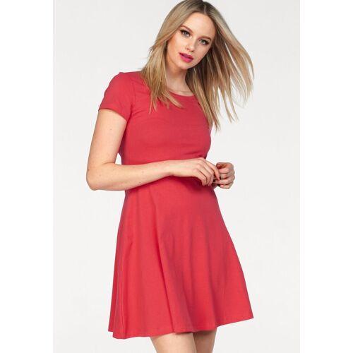 Vero Moda Shirtkleid »ANDERS« aus Baumwolle, rot