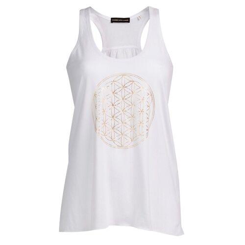 Flying Love Birds Yogashirt, white