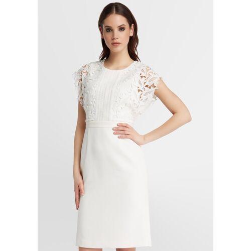 Apart Kurzes Hochzeitskleid, creme
