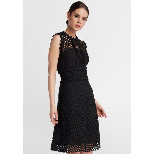 Apart Kurzes Kleid, schwarz