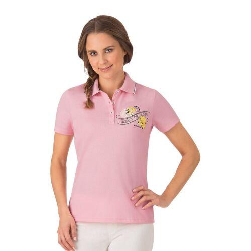 Trigema Poloshirt Maritim, rosé