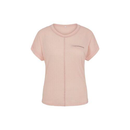 MILLION-X T-Shirt »Pailetten«, rosa