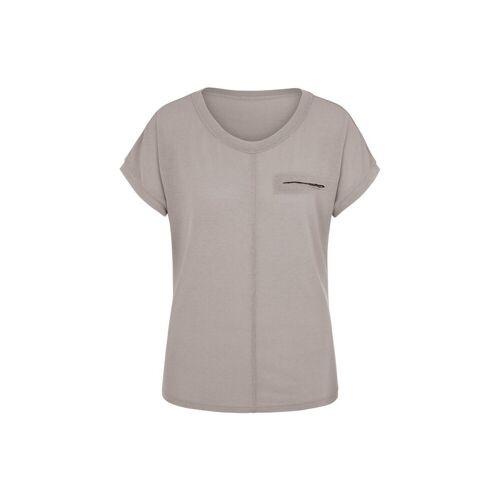 MILLION-X T-Shirt »Pailetten«, grau