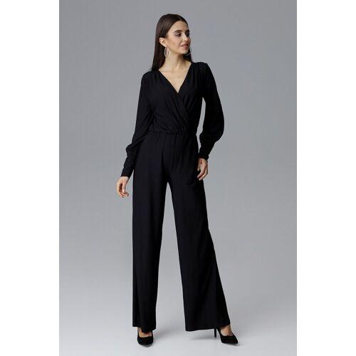 FIGL Jumpsuit in elegantem Design, Black