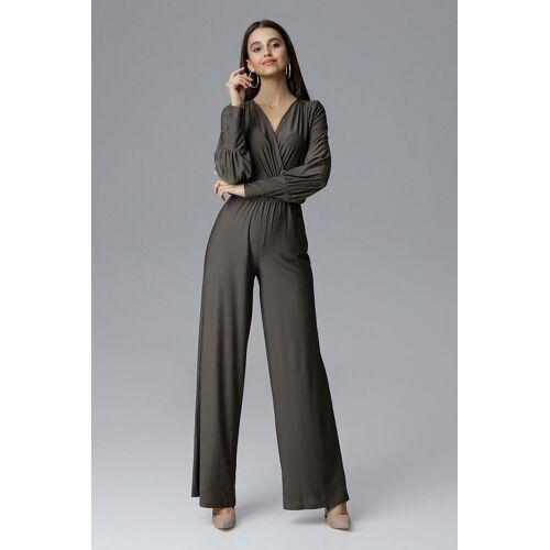 FIGL Jumpsuit in elegantem Design, Olive