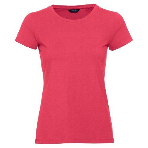 Gant T-Shirt mit Rundhals, Wassermelone