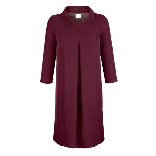 Alba Moda Kleid mit Rollkragen, Beere