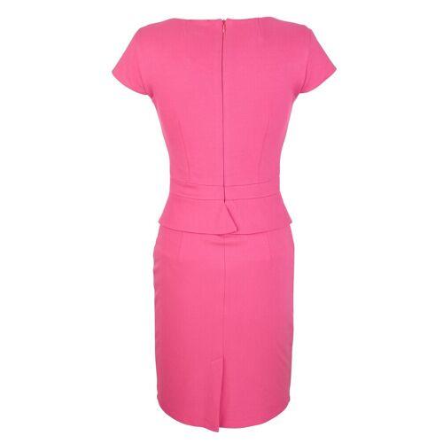 Alba Moda Kleid in figurbetonte Form, Pink