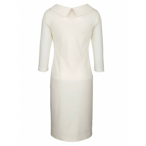 Alba Moda Kleid in figurbetonter Form, Off-white