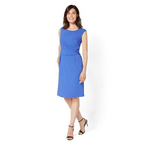 select! By Hermann Lange Abendkleid mit raffinierten Falten, blau