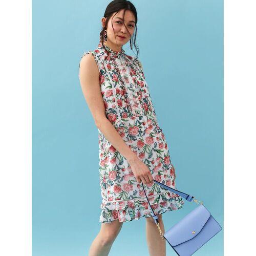 TOP SECRET Sommerkleid mit floralem Allover-Print, WHITE