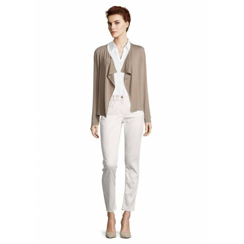 Betty Barclay Shirtjacke langarm, beige - Grau