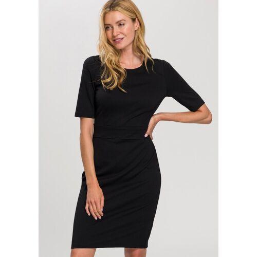 Esprit Collection Abendkleid mit halblangen Ärmeln, schwarz