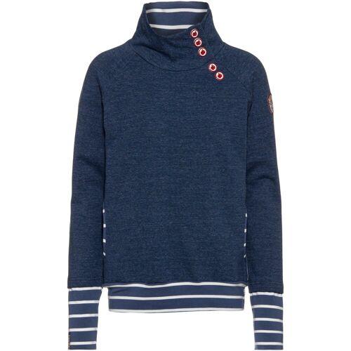 Blutsgeschwister Sweatshirt »Oh So Nett«, blau