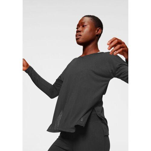 Nike Yogashirt »Women's Long-Sleeve Yoga Training Top«, schwarz