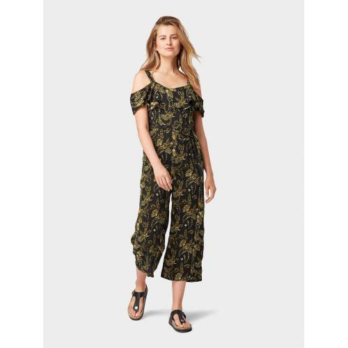 TOM TAILOR Jumpsuit »Jumpsuit mit Palmen-Print«